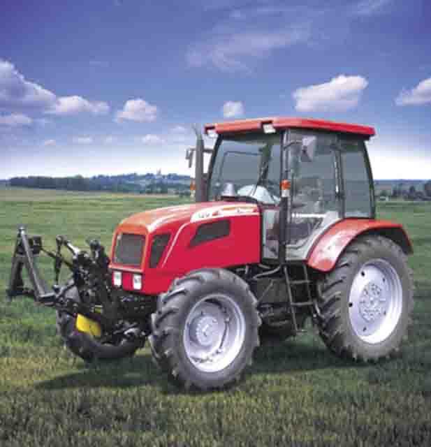 Трактор ЛТЗ-120Б