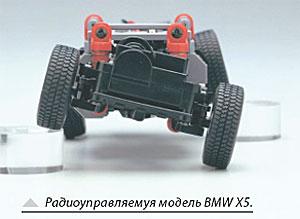 Радиоуправляемуя модель BMW X5.